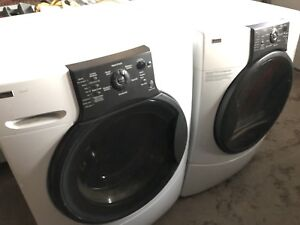 Kenmore Elite washer and dryer front load