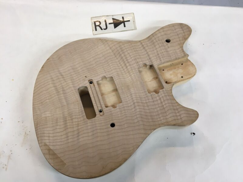 Peavey USA Wolfgang Flame Top Electric Guitar Body Maple Van Halen
