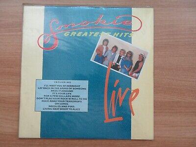 Smokie – Greatest Hits Live 11 Tracks 1990 Korea Orig LP SEALED NEW