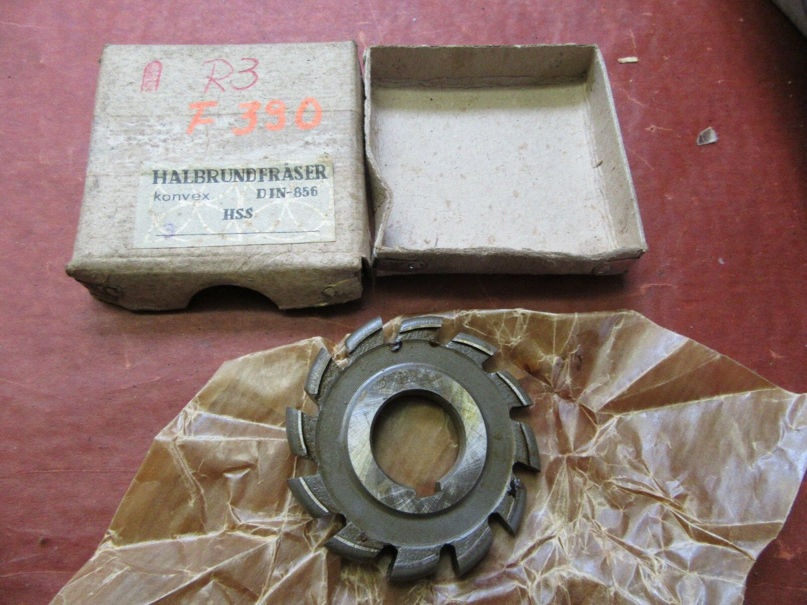 Halbkreisformfräser konvex  3HSS 63/6 Halbrundfräser Halbkreisfräser  #F390#