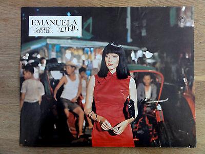 Erotik Aushangfoto Sylvia Kristel EMANUELA 2. TEIL Garten der Liebe