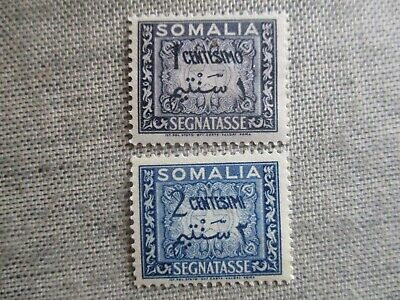 Somalia, Scott#J55-J56, MH