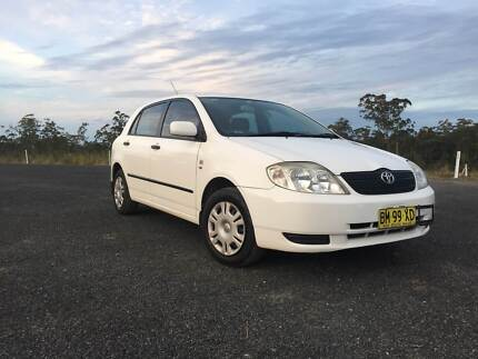 2002 Toyota Corolla Clybucca Kempsey Area Preview