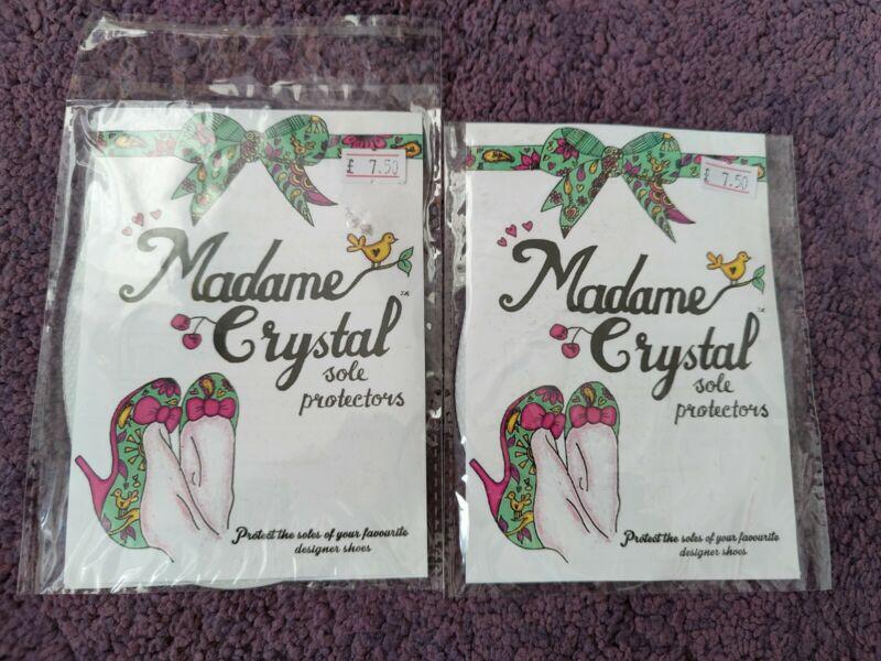 Madame+Crystal+Sole+Protectors+x+2+Pairs+Large+Size+Irregular+Choice