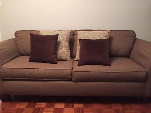 Chocolate sofas - couch