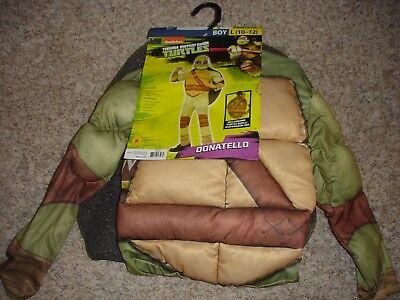 TMNT Teenage Mutant Ninja Turtles Donatello Halloween Costume L10/12 Rubies