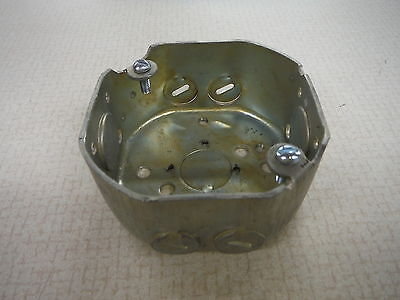 Steel City Electrical Oultet Utility Box Rounded Octagon 3 1/2""