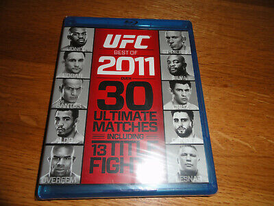 UFC: Best of 2011 30 ultimate matches 13 title fights! (Blu-ray Disc Set) new