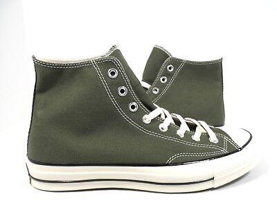 Converse Men's Chuck Taylor All Star 70 Hi Retro Sneaker Herbal Black Size 9.5 (Retro Chuck Taylors)