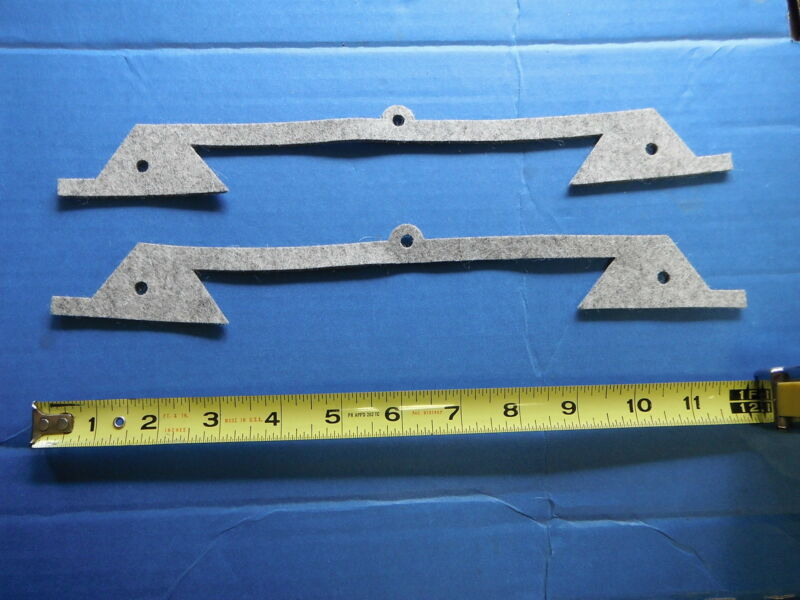 BRIDGEPORT MILL PART, milling machine (2) SADDLE KNEE FELT WAY WIPERS M1602 new
