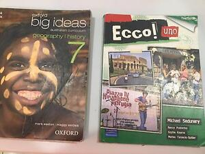 Year 7 text books, all good condition and current editions. Mount Eliza Mornington Peninsula Preview