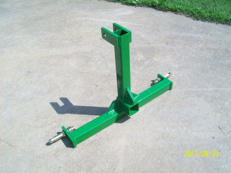 CAT 1 Farm Tractor Skid 3 Point Hitch Drawbar Receiver Hitch