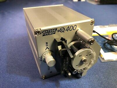 Watson Marlow Sciq 400 401ud 200 Rpm Peristaltic Pump With Power Supply