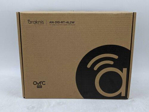 Open Box Araknis Networks 310-Series Gigabit VPN Router (AN-30-RT-4L2W) -AS1668