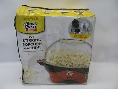West Bend Stir Crazy Deluxe 6qt Stirring Popcorn Machine for sale  Shipping to Nigeria