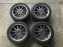 18 inch BMS GT-8 wheels rims Greenslopes Brisbane South West Preview