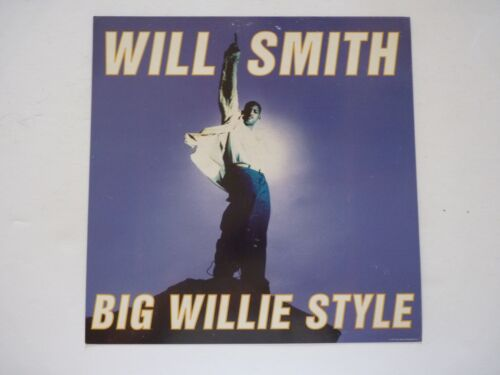 Will Smith Big Willie Style LP Record Photo Flat 12x12 Poster