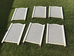 6 Piece Plastic Fence for Sale