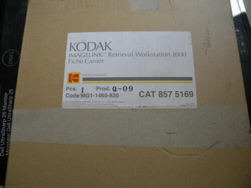 Kodak Imagelink Retrieval Workstation 1000 Fiche Carrier CAT 857 5169