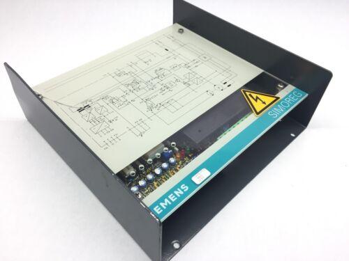 Siemens Simoreg 6RA 203-8DD20-1 Drive