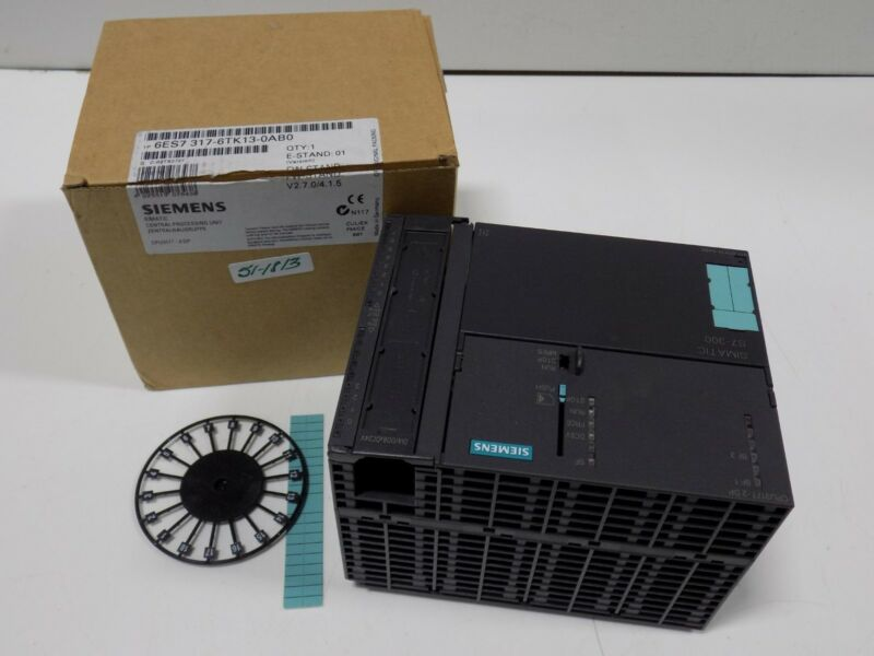 Siemens Simatic Central Processing Unit 6es7 317-6tk13-0ab0 Nib