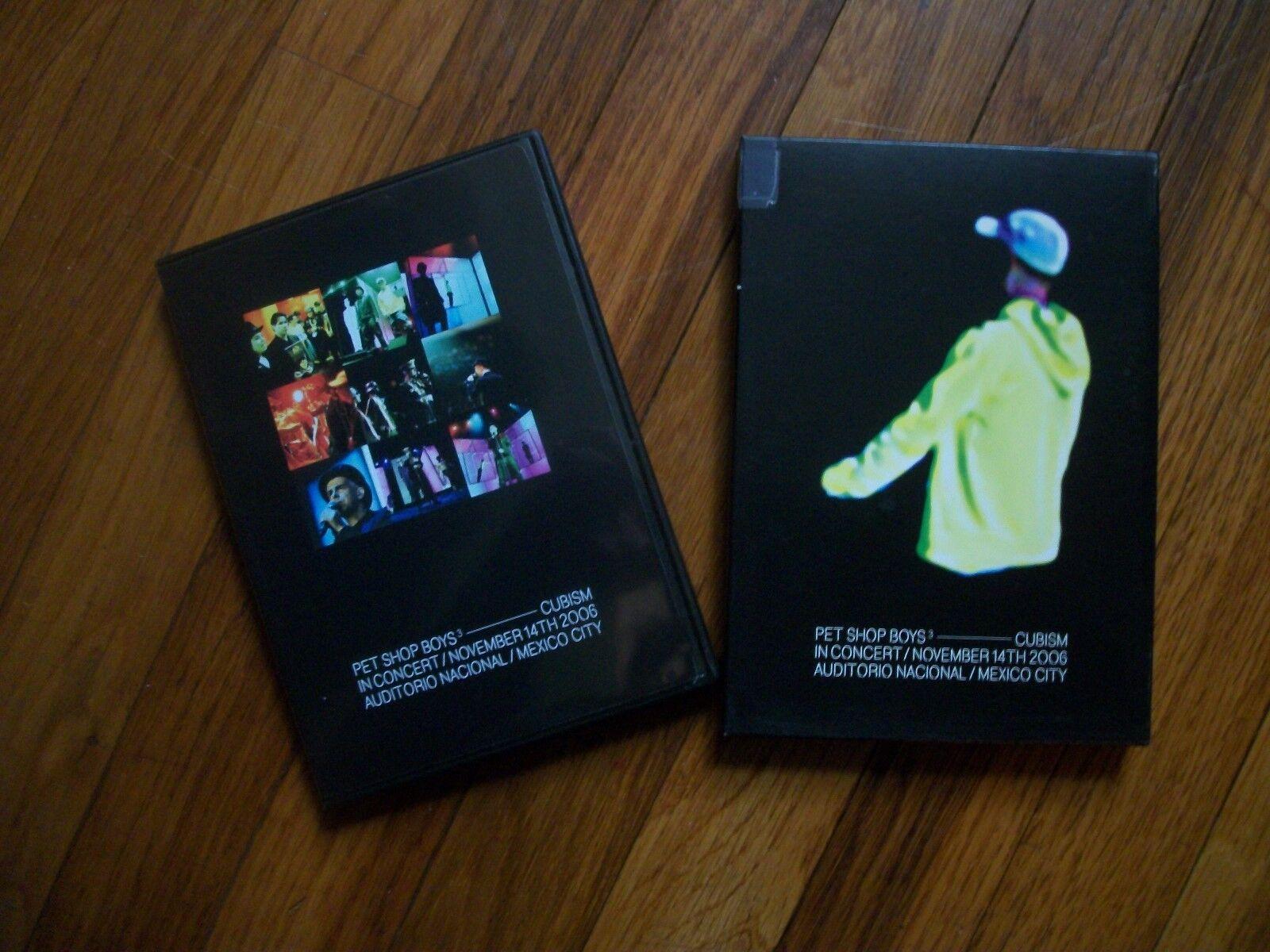Купить PET SHOP BOYS----CUBISM IN CONCERT---NOVEMBER 14TH 2006  MEXICO CITY----DVD
