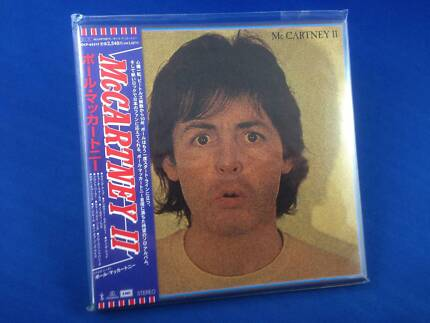Paul McCartney II RARE 2000 JAPAN PROMO Mini LP Repli