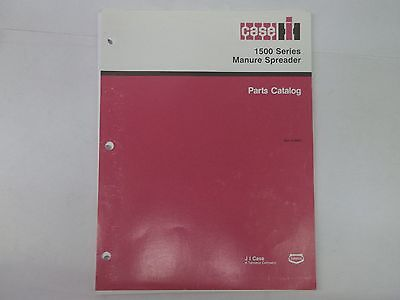Case Ih 1500 Series Manure Spreader Parts Catalog