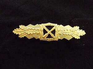 Wehrmacht Heer Elite Nahkampfspange Gold  1957 Ausführung Original