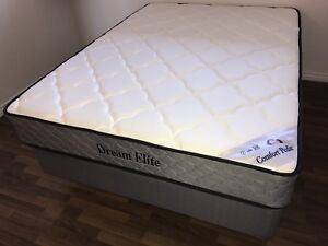 """NEW Queen CP#2 60""""x78""""x 9"""" Thick dual sided coil Mattress $320"""
