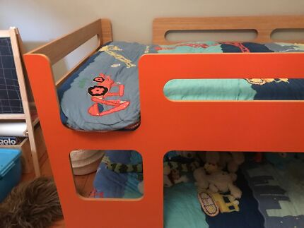 Kids Domayne 'My Place' Bunk Bed & Mattresses