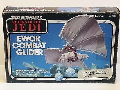 star wars vintage Ewok combat glider