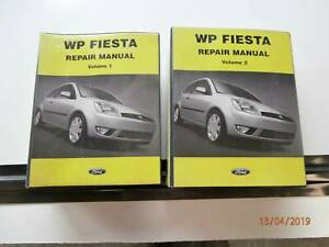 Ford Fiesta WP Genuine Repair Manual Tarago Goulburn City Preview