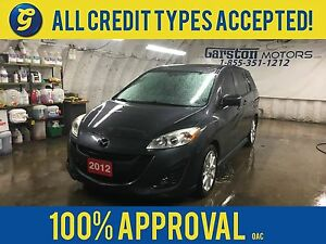 2012 Mazda Mazda5 GT*LEATHER*POWER SUNROOF*PHONE CONNECT*HEATED