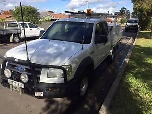 2007 FORD RANGER PJ XL  4X4 SUPER CAB TURBO DIESEL UTE ,1 OWNER Westmead Parramatta Area Preview