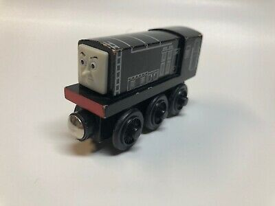 DIESEL Thomas & Friends Wooden Railway Train Tank Engine-GUC 2003-Black