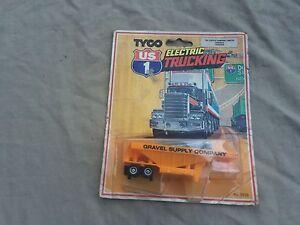 Tyco U.S 1 Electric Trucking (Gravel Supply Company Trailer) No 3925
