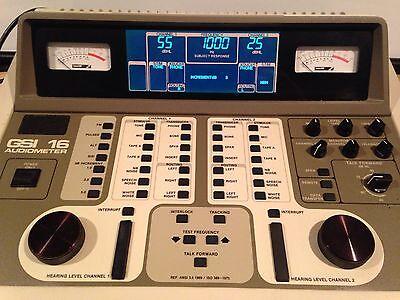 Gsi 16 Audiometer Display Replacement Service