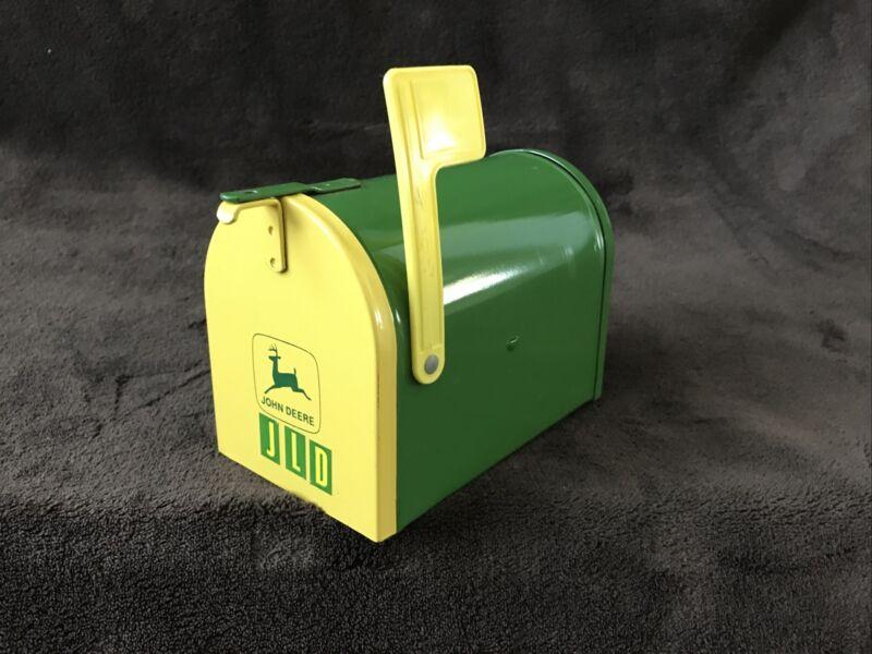 Vintage John Deere Mailbox Bank - Made In USA - Original Owner & FREE SHIPPING