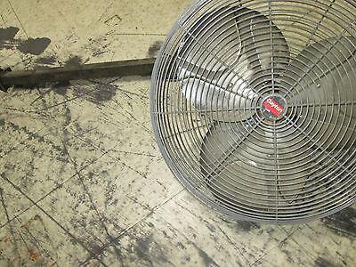 Dayton Exhaust Fan 24 Fan W Mount Motor 6k403c 14hp 1ph 115v 4.5a Used