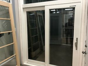 PVC SLIDING PATIO DOOR  *read info*