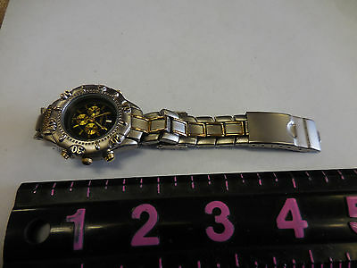 Estate Sale Mens Titanium Watch   Works Great