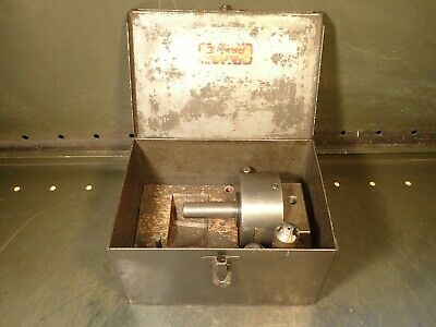 Bridgeport 2 Offset Boring Head 3-38 Body 34 Straight Shank W Bars Case