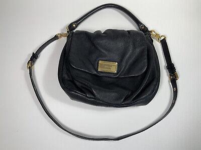 Marc By Marc Jacobs Black Leather Classic Q Lil Ukita Crossbody Shoulder Bag