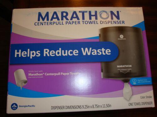 Marathon 6403017 Centerpull Paper Towel Dispenser Color: Smoke NEW
