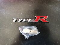 Honda Civic Fn2 Fd2 Type R Rear Badge In White Mugen 200 Integra Dc5