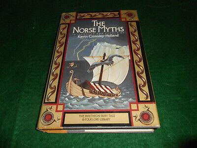 THE NORSE MYTHS Crossley-Holland BOOK Scandinavian Legends