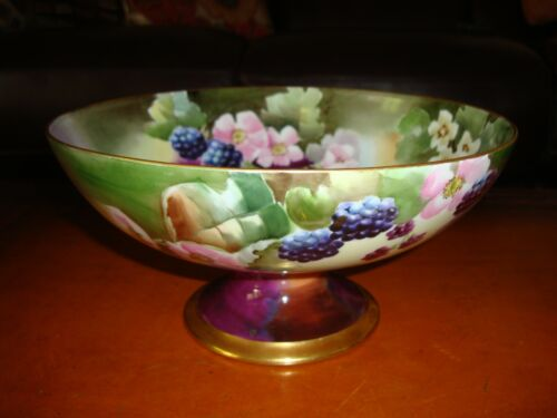 LIMOGES HAND PAINTED DARCY