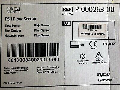50 New Puritan-bennett Fsii Flow Sensors Model P-000263-00 For Spirometer