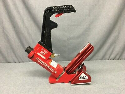 Powernail Model 50p 18-gauge Flex Adjustable Foot Hardwood Flooring Nailer-